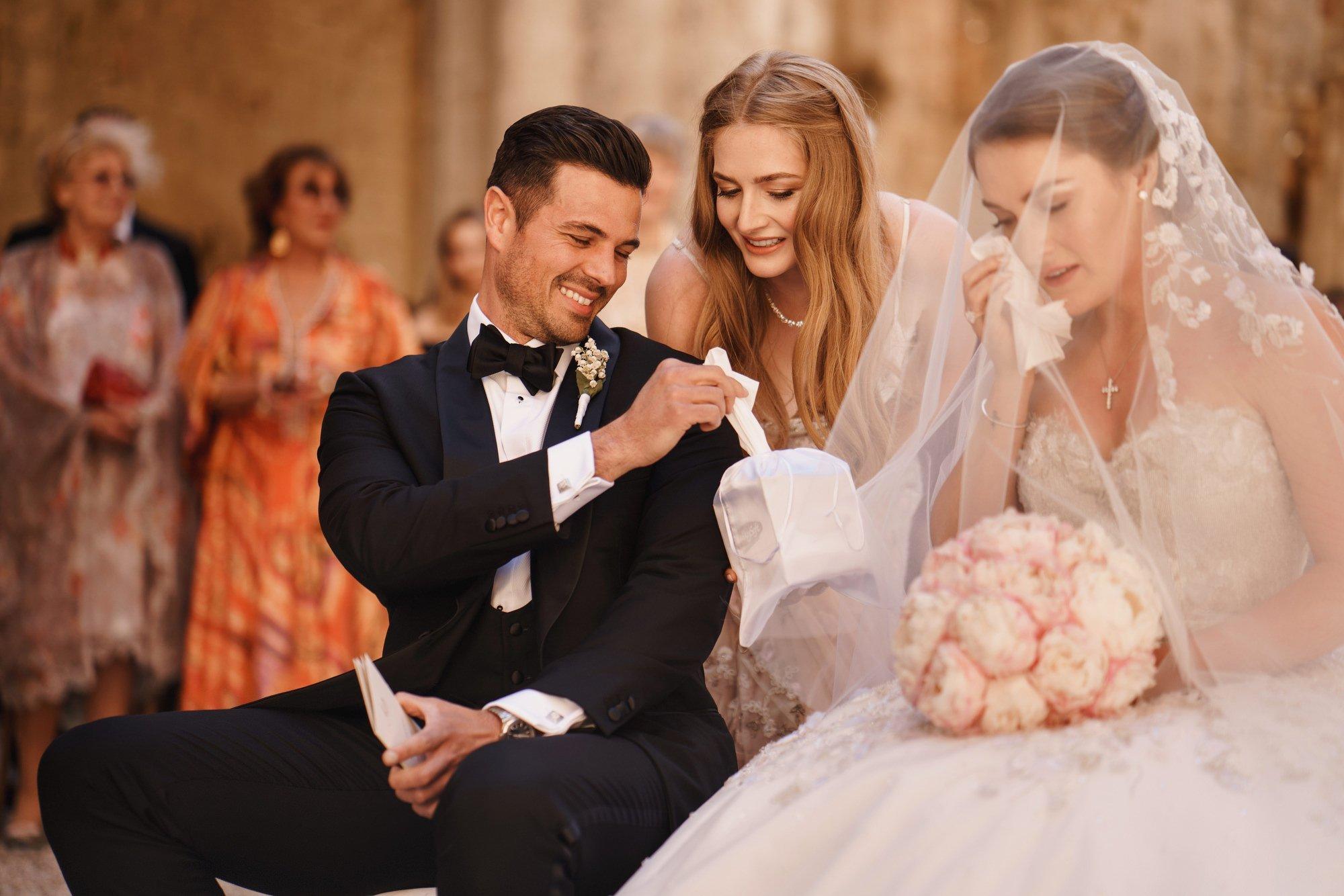 San Galgano Abbey Weddings - Luxury Destination Wedding Photography by ARJ Photography