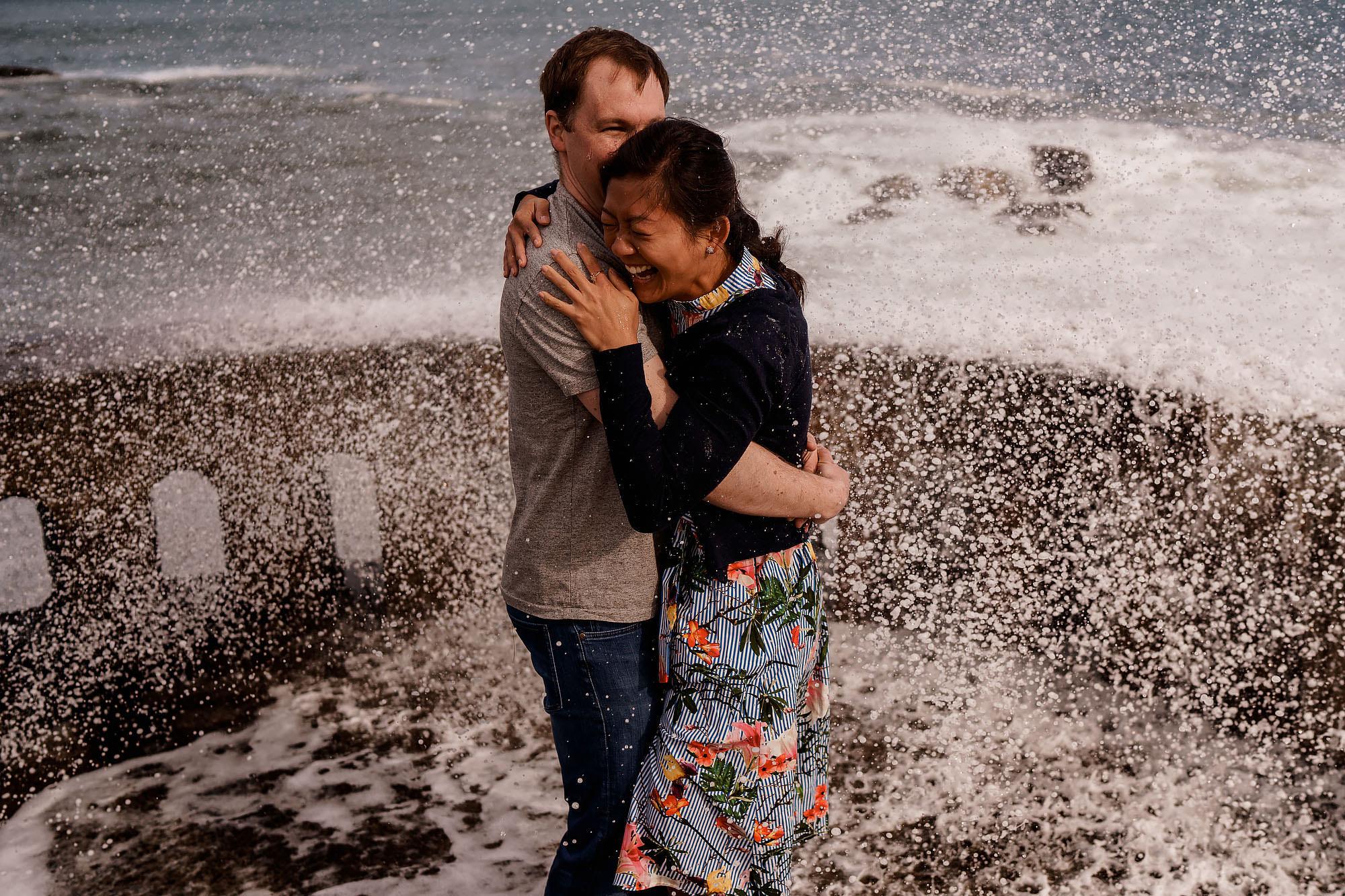 Biarritz Engagement Shoot - Destination Wedding Photography by ARJ Photography