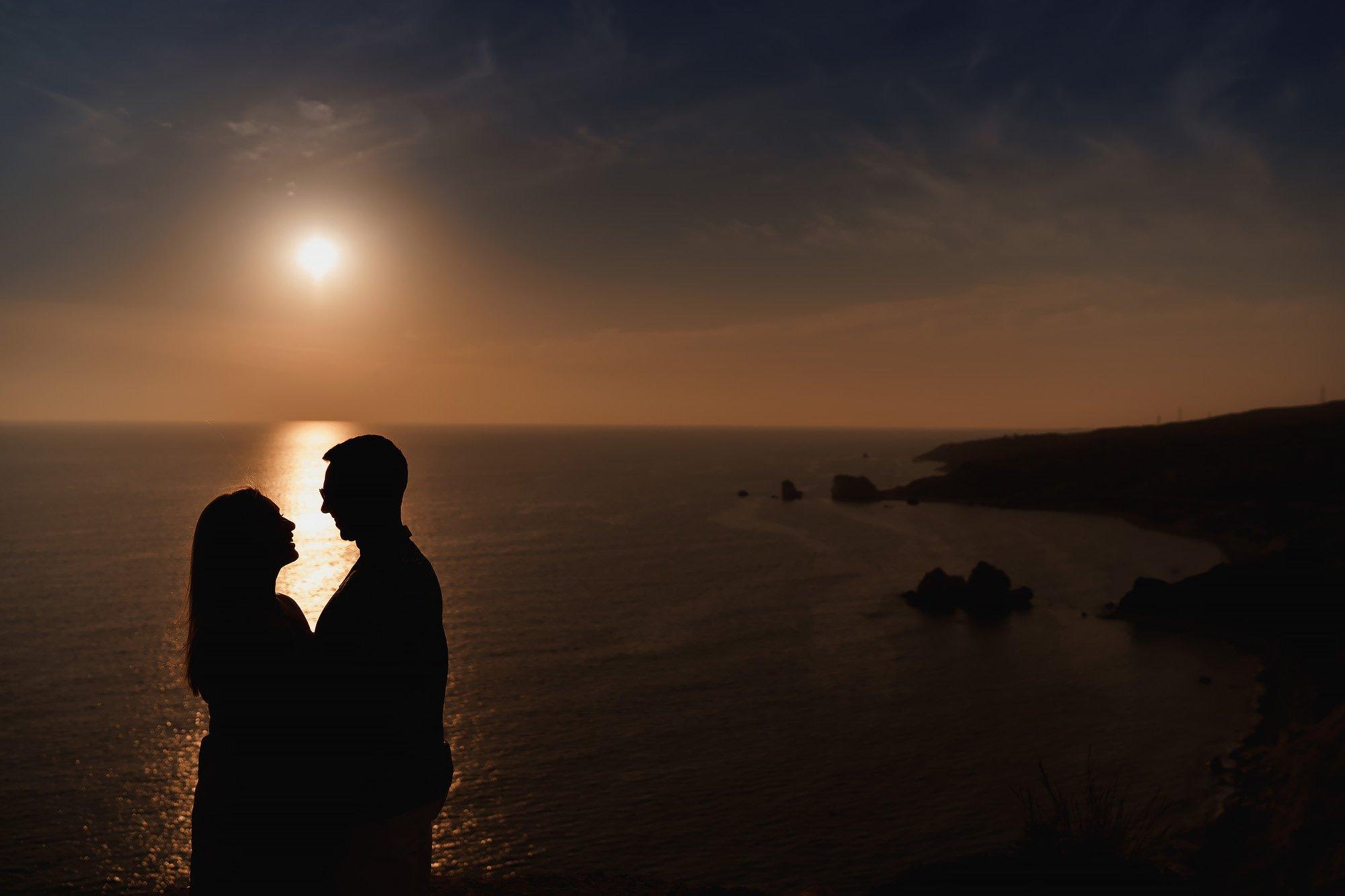Cyprus kouklia aphrodite's rock engagement shoot - destination wedding photography by arj photography