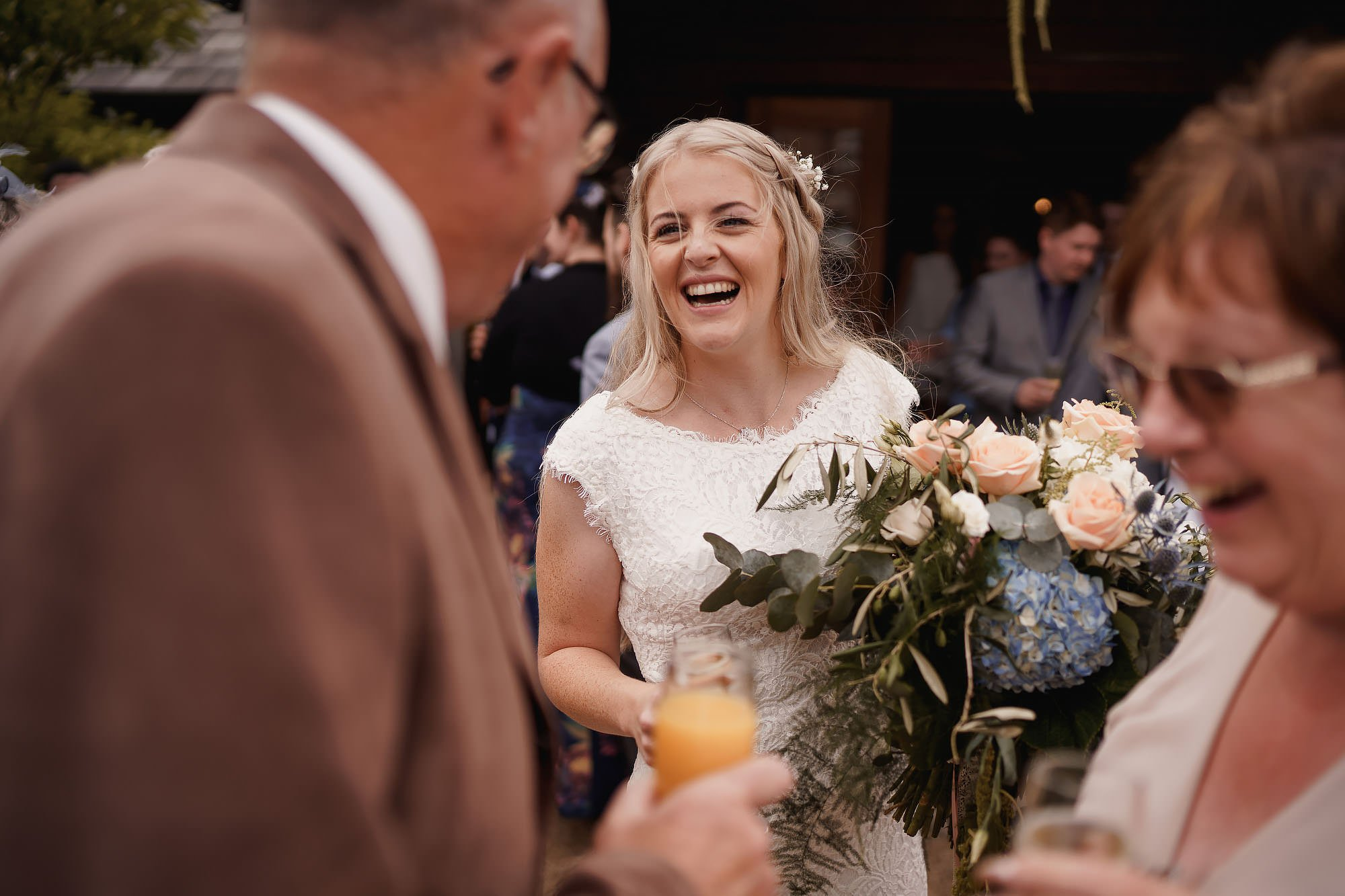 Wedding at Sandhole Oak Barn by ARJ Photography