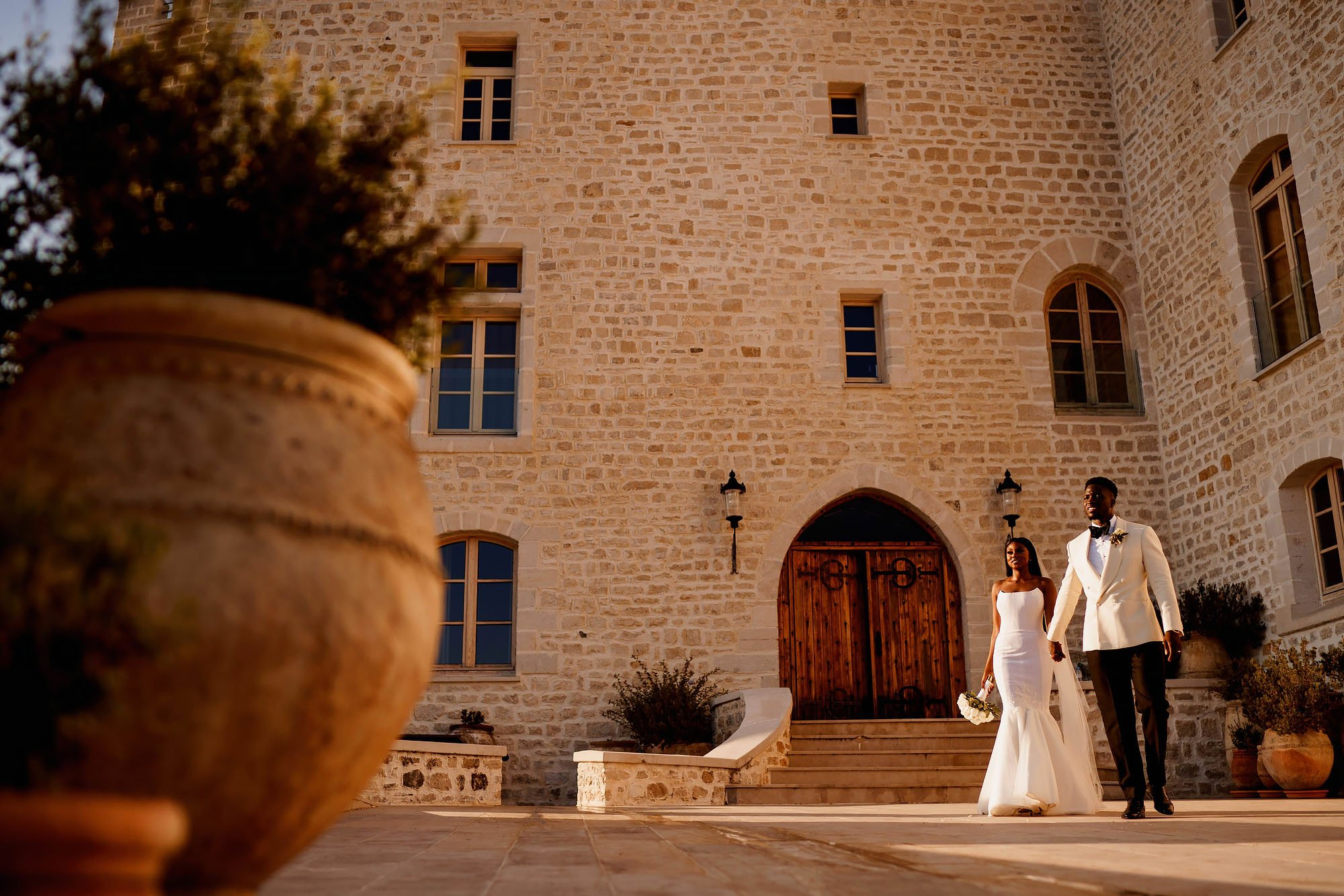 Chateau wedding nice france - arj photography®