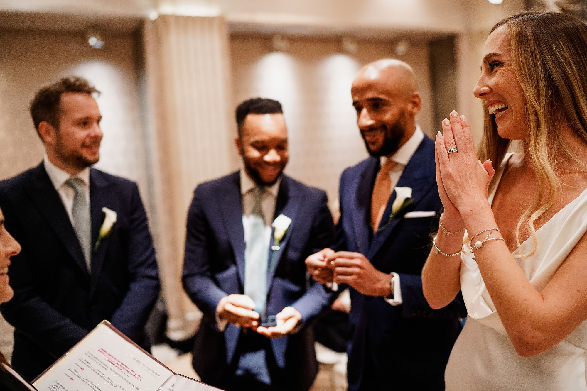 Connaught Hotel London weddings - ARJ Photography®
