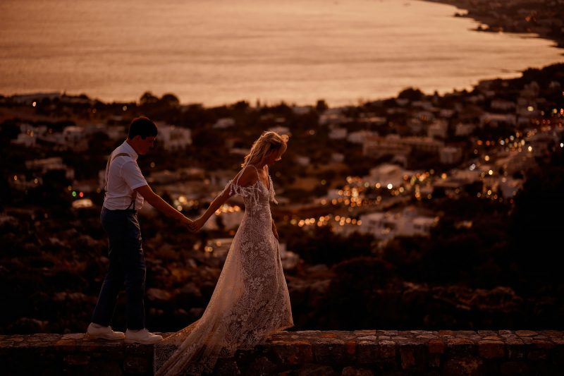 Pefkos Rhodes Greece destination wedding at Philosophia - ARJ Photography®