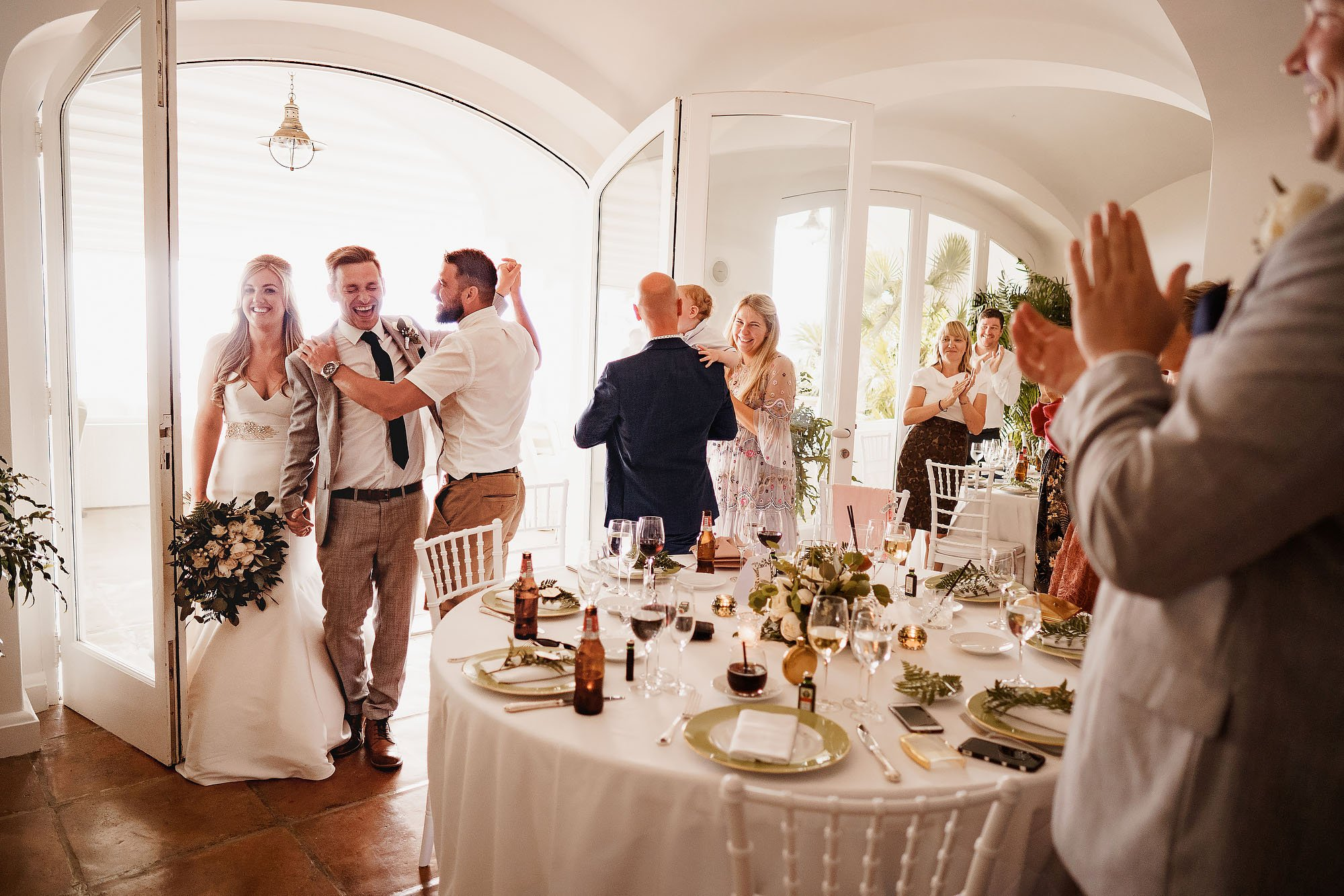 Sorrento cloisters + villa weddings