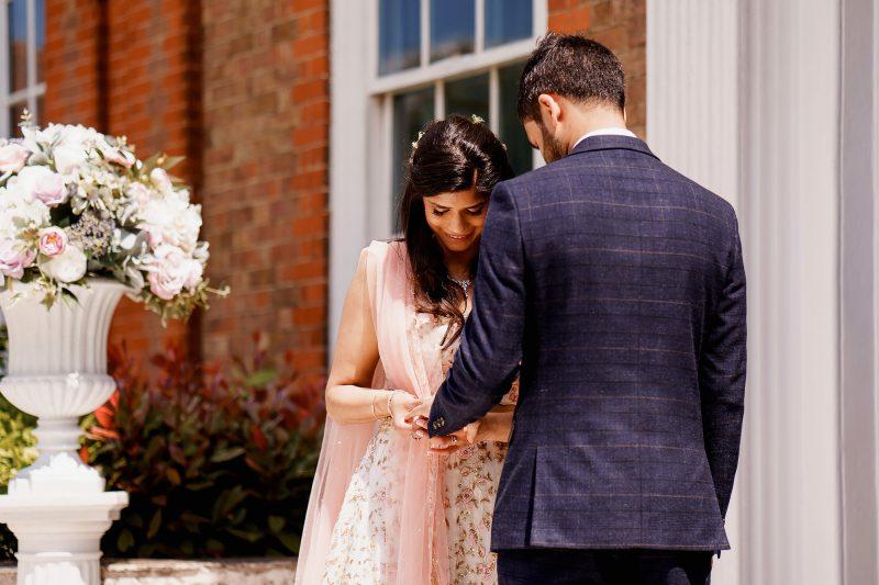 Bradbourne House Wedding Photographer - ARJ Photography®