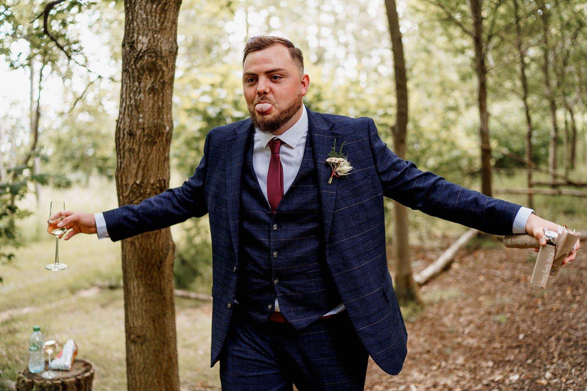 Woodland wedding photos - endeavour woodland weddings by arj photography®