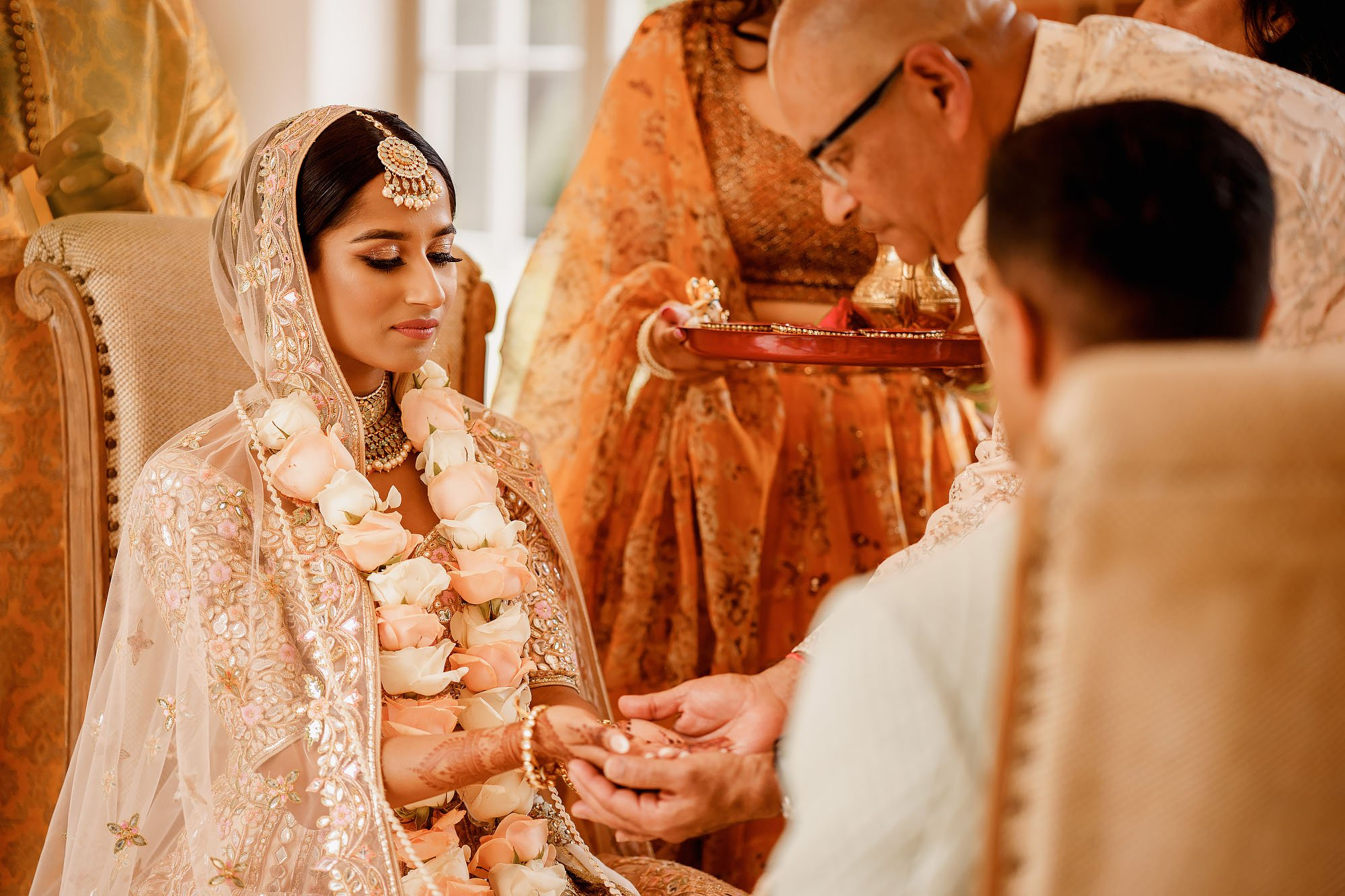 Offley place indian wedding photography