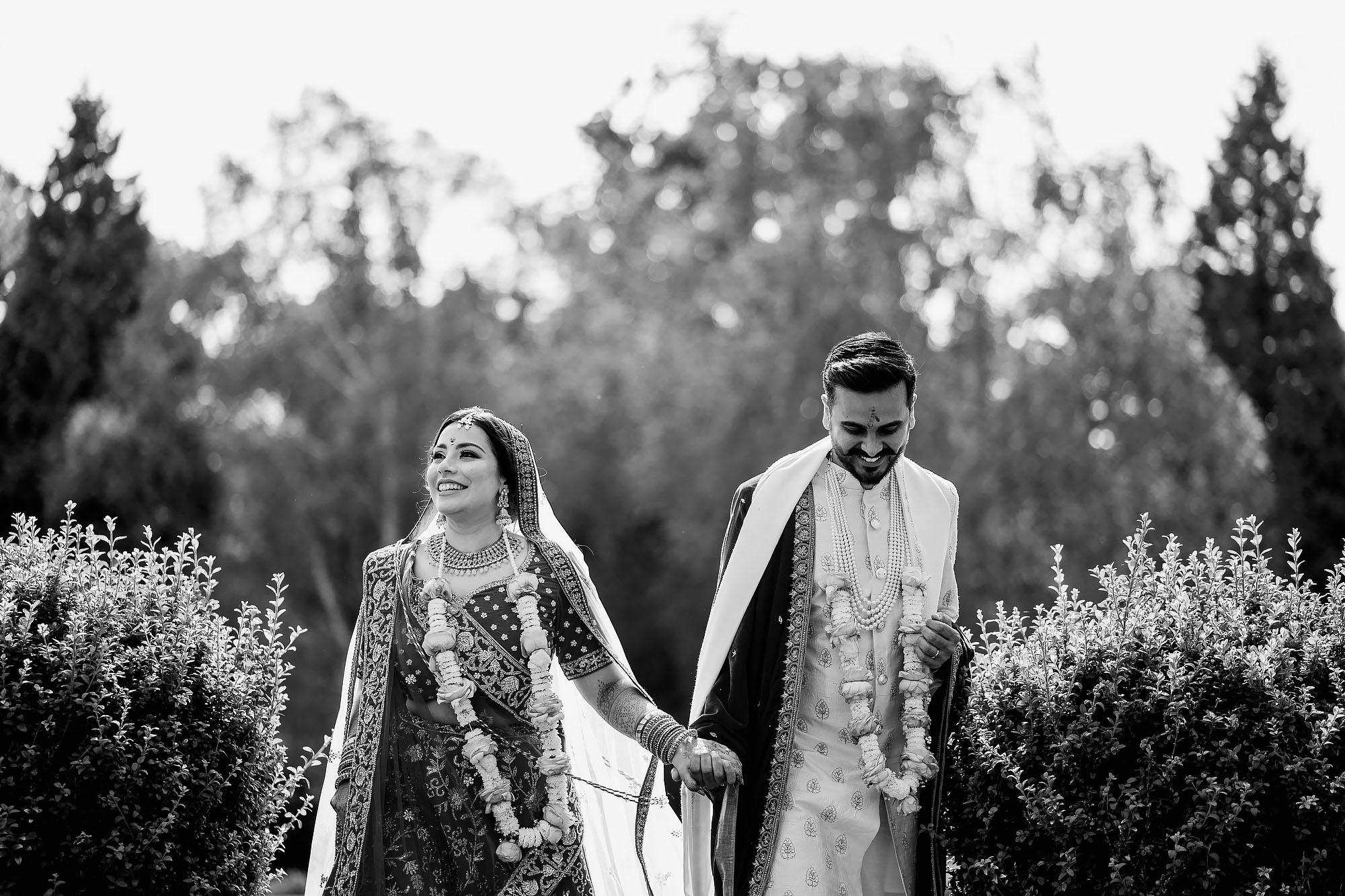 Indian wedding at winstanley house